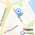 Тристан на карте Ярославля