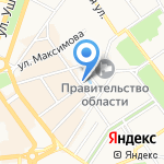Часовня Александра Невского на карте Ярославля