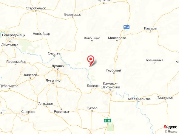 хутор Садки на карте