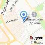 EGO на карте Ярославля