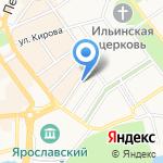 Центр социальных выплат на карте Ярославля