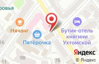 Схема проезда до компании Тристан в Ярославле