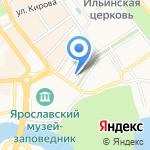 Монро на карте Ярославля