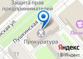 Прокуратура Вологодской области на карте