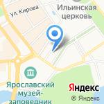 Федерация защиты прав налогоплательщиков на карте Ярославля
