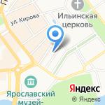 Веренд на карте Ярославля