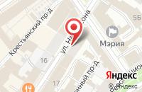 Схема проезда до компании Зимний сад в Ярославле