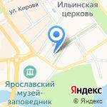 Иоанн Васильевич & Синема Клуб Афоня на карте Ярославля