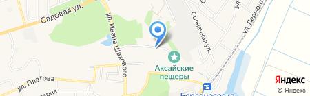 Военно-исторический комплекс на карте Аксая