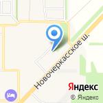Участковый пункт полиции на карте Рассвета