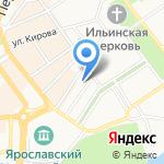 Департамент архитектуры и земельных отношений Мэрии г. Ярославля на карте Ярославля