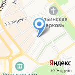 Департамент финансов Ярославской области на карте Ярославля