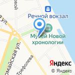 Ангарострой на карте Ярославля