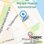 Департамент образования Ярославской области на карте Ярославля