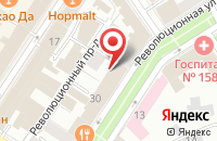 Схема проезда до компании Тверская межобластная ветеринарная лаборатория в Ярославле