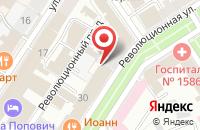 Схема проезда до компании Российский союз ветеранов в Ярославле