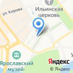 Тверская межобластная ветеринарная лаборатория на карте Ярославля