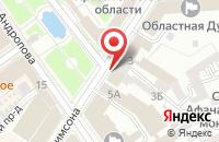 Схема проезда до компании На Рождественской в Ярославле