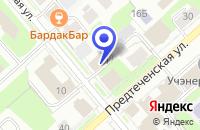 Схема проезда до компании СТРОИТЕЛЬНАЯ КОМПАНИЯ СТРОЙИНДУСТРИЯ в Вологде
