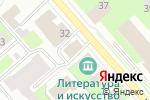 Схема проезда до компании Первая стекольная компания в Вологде