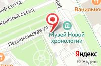 Схема проезда до компании На Волге в Ярославле