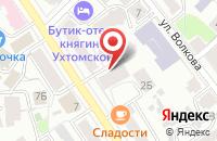 Схема проезда до компании Тепло в Ярославле