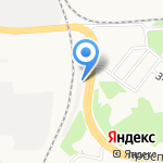 Теплицы-Ярославль на карте Ярославля