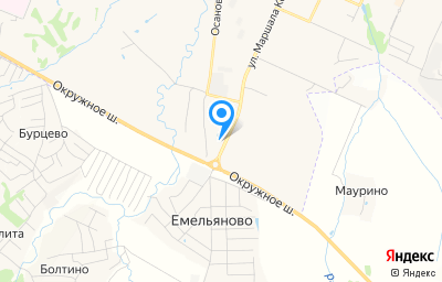Местоположение на карте пункта техосмотра по адресу г Вологда