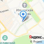 Абарис на карте Ярославля
