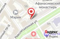 Схема проезда до компании ИнвестСтройГарант в Ярославле