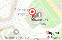 Схема проезда до компании BUNNY.AGENCY в Ярославле