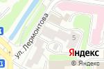 Схема проезда до компании Вологдалестоппром в Вологде