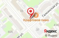 Схема проезда до компании Премьера в Вологде