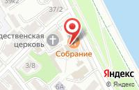 Схема проезда до компании Собрание в Ярославле