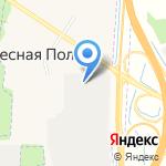 Катрен на карте Ярославля