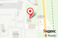 Схема проезда до компании AS-auto в Вологде