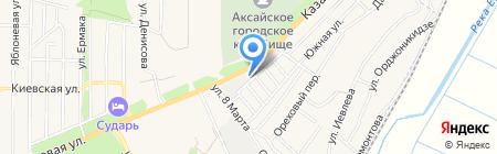Алютех-Ростов на карте Аксая