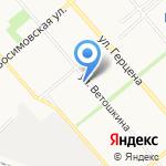 Кенга-Тур на карте Вологды