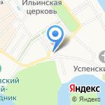 Церковь Спаса на Городу на карте Ярославля