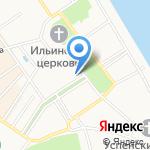 Молодая гвардия на карте Ярославля