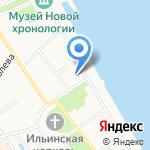 Церковь Николая Надеина на карте Ярославля