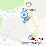 Ярфарма на карте Ярославля