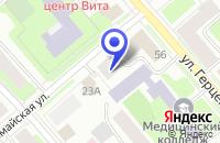 Схема проезда до компании ПРОДОВОЛЬСТВЕННЫЙ МАГАЗИН в Вологде