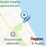 Ярославский художественный музей на карте Ярославля