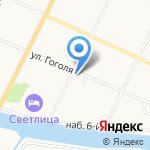 Вологдасельстрой на карте Вологды