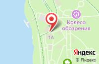 Схема проезда до компании Парк на Даманском острове в Ярославле
