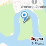 Парк на Даманском острове на карте Ярославля