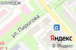 Схема проезда до компании Ника-Н в Вологде