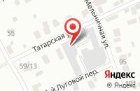 Схема проезда до компании АРТ-ВИЗИО в Ярославле