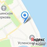 Ярославский теннисный клуб на карте Ярославля